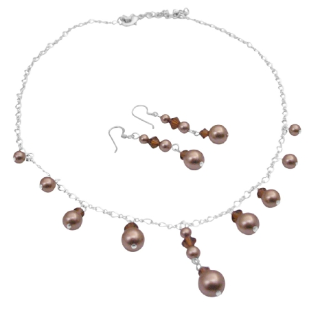 Exclusive Collection Of Bridesmaid Flower girls Necklace Sets