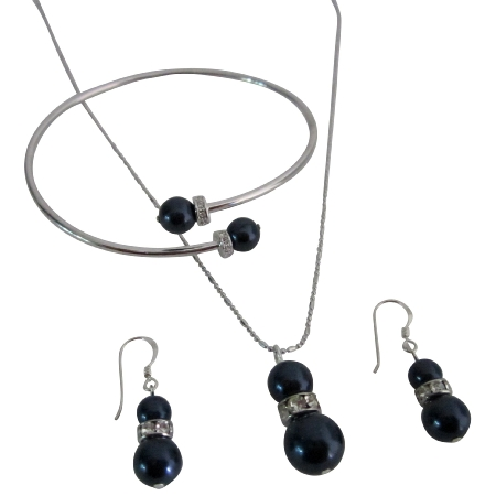 Fine Jewelry At Fashion Jewelry For Everyone Night Blue Pearls