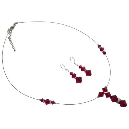Budget Bridal Siam Jewelry Set