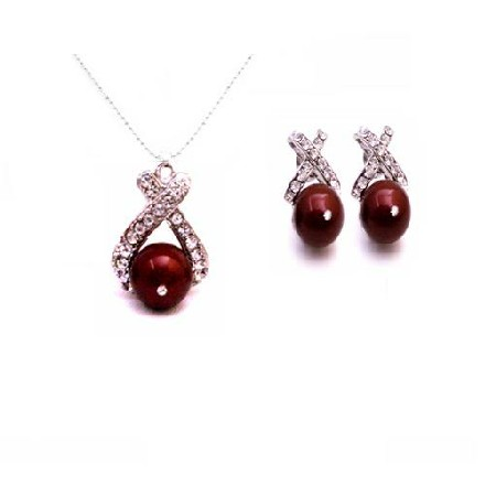 Attractive Wedding Party Compatible Necklace Jewelry Set