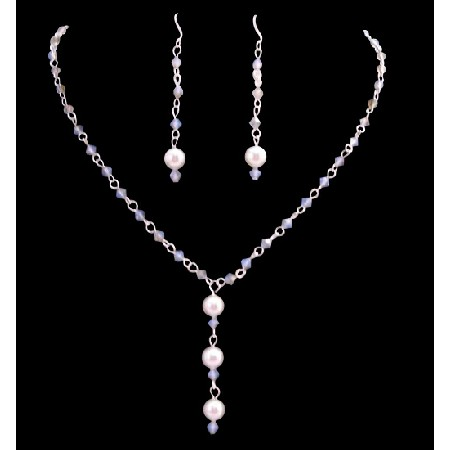 Handmade Customize Your Jewelry White Opal StarShine Crystals Pearls