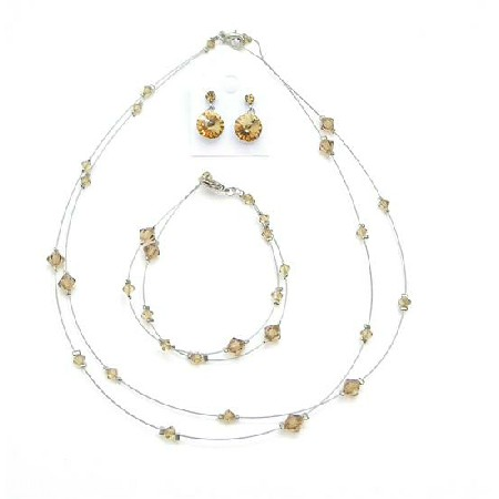 Delicate Lite Colorado Attire Inexpensive Jewelry Set
