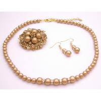 Looking For Harvest Color Jewelry Fine Handcrafted Swarovski Pearls :  swarovski necklace pearls fashion